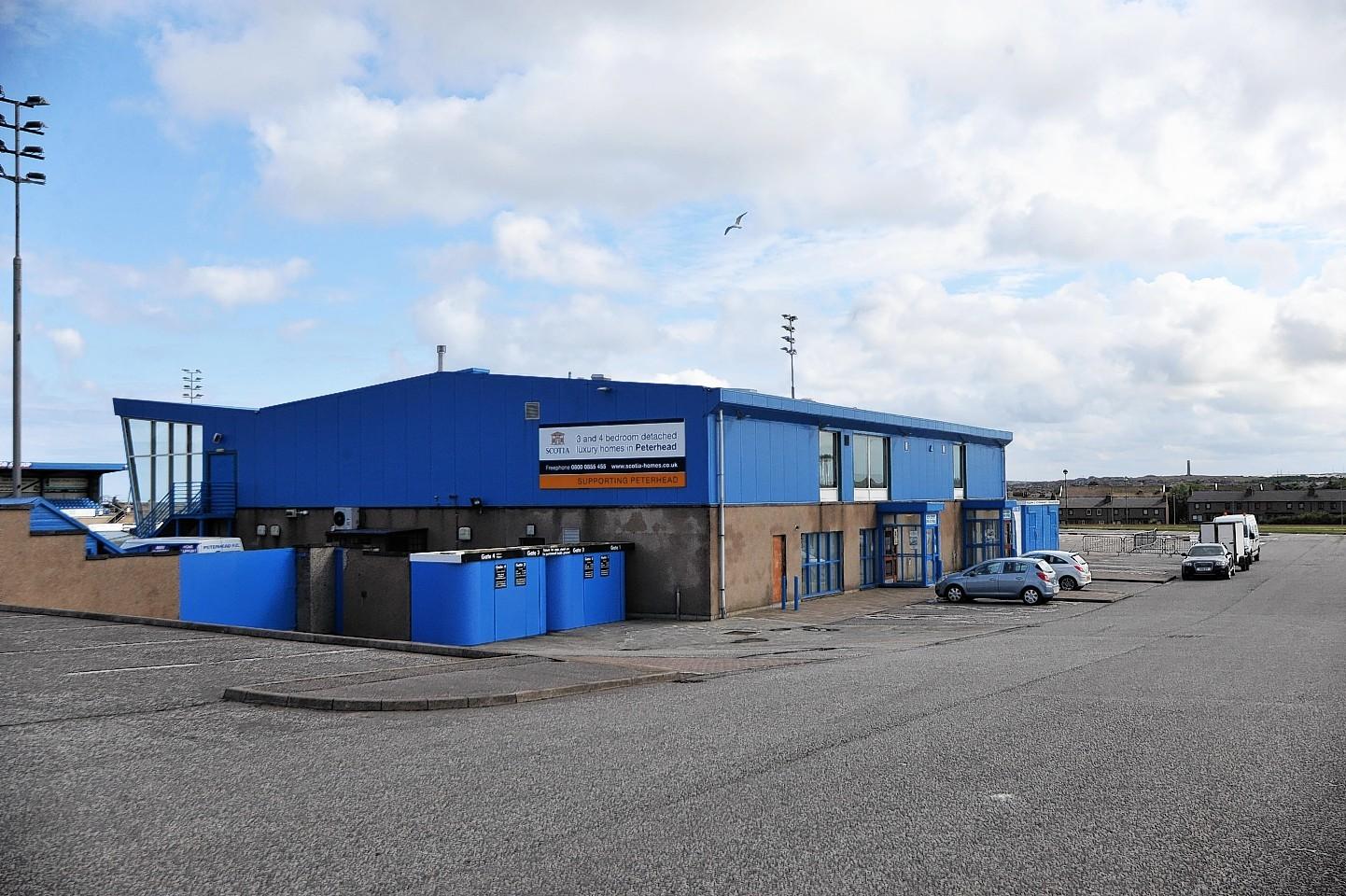Balmoor Stadium, Peterhead
