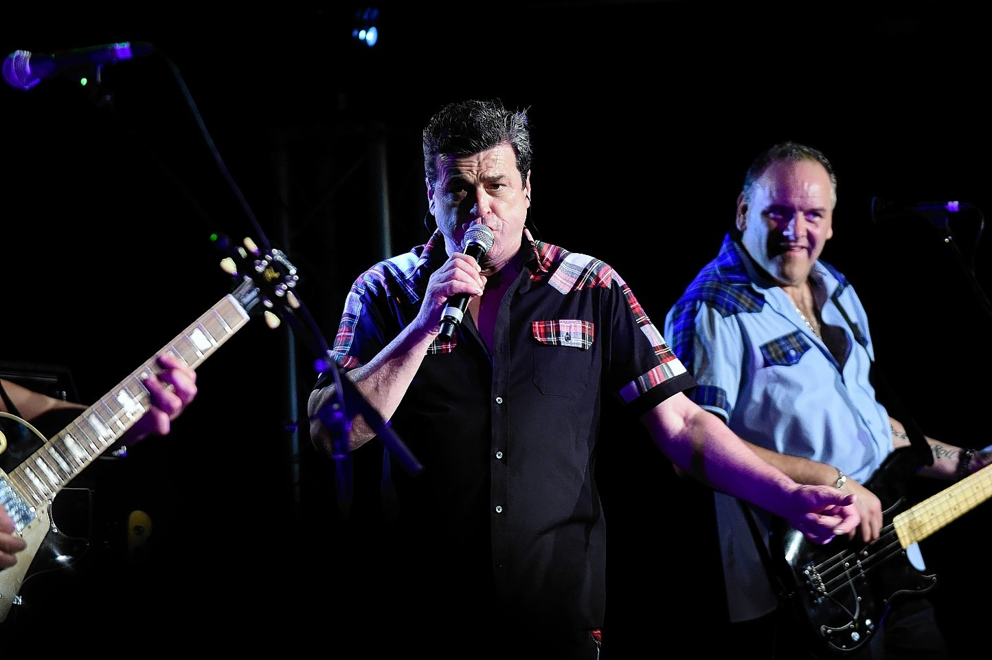 Les McKeown and his Bay City Rollers entertained a large crowd at Fraserburgh Leisure Centre