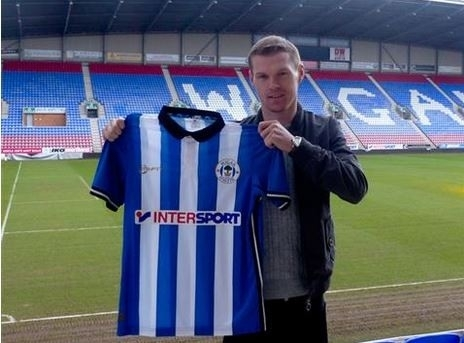 Mckay joined WIgan in January this year but has struggled to make an impact down south