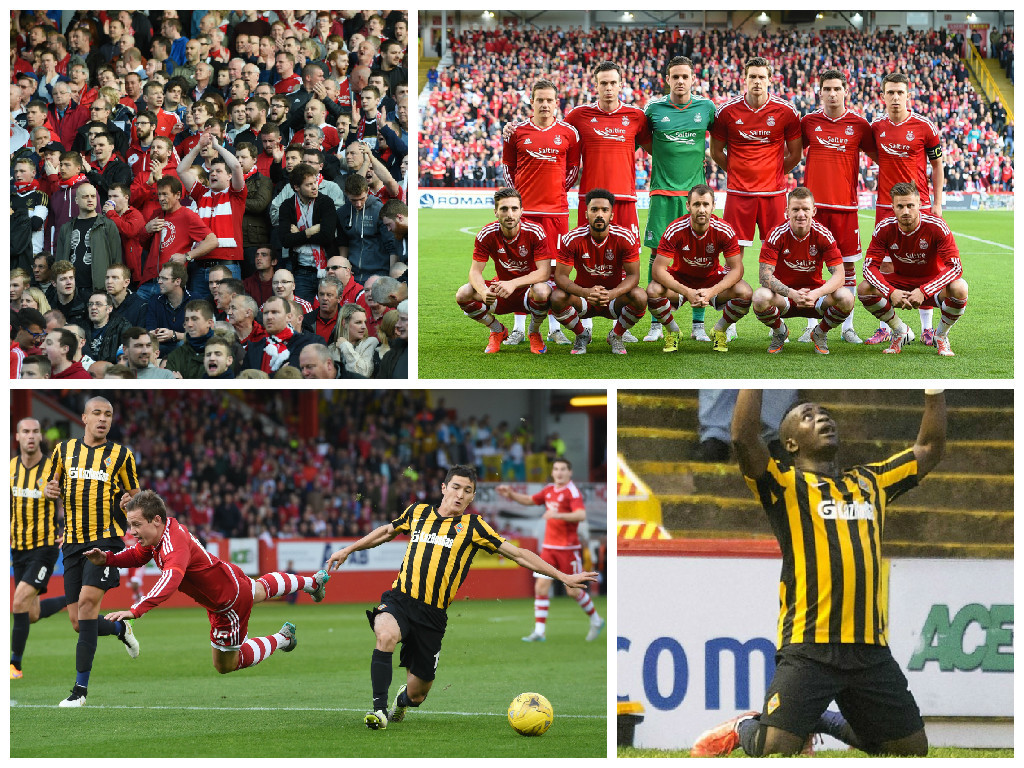 Aberdeen's European adventure came to an end this evening at Pittodrie