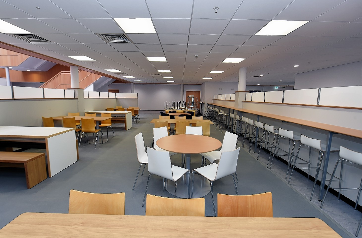 The canteen of the new Ellon Academy. Credit: Kevin Emslie.