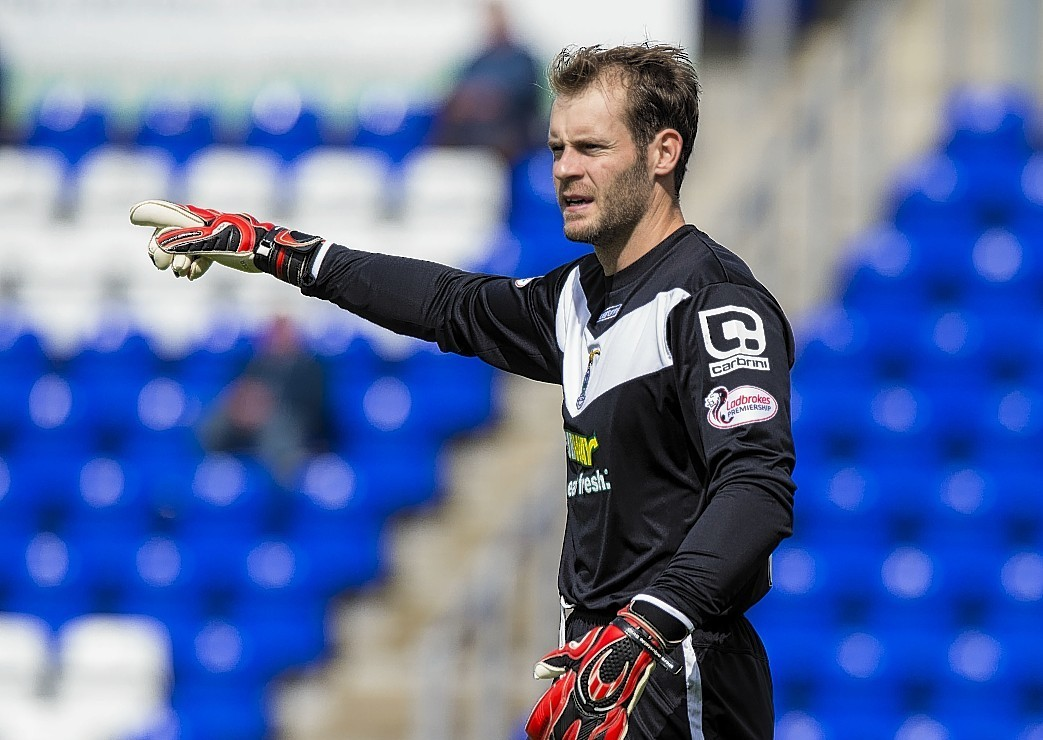 Owain Fon Williams was an ever-present for Caley Thistle last season.