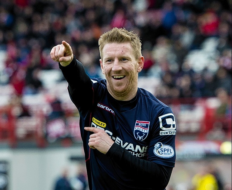 Gardyne is delighted with the change Ross County have made since he joined the club
