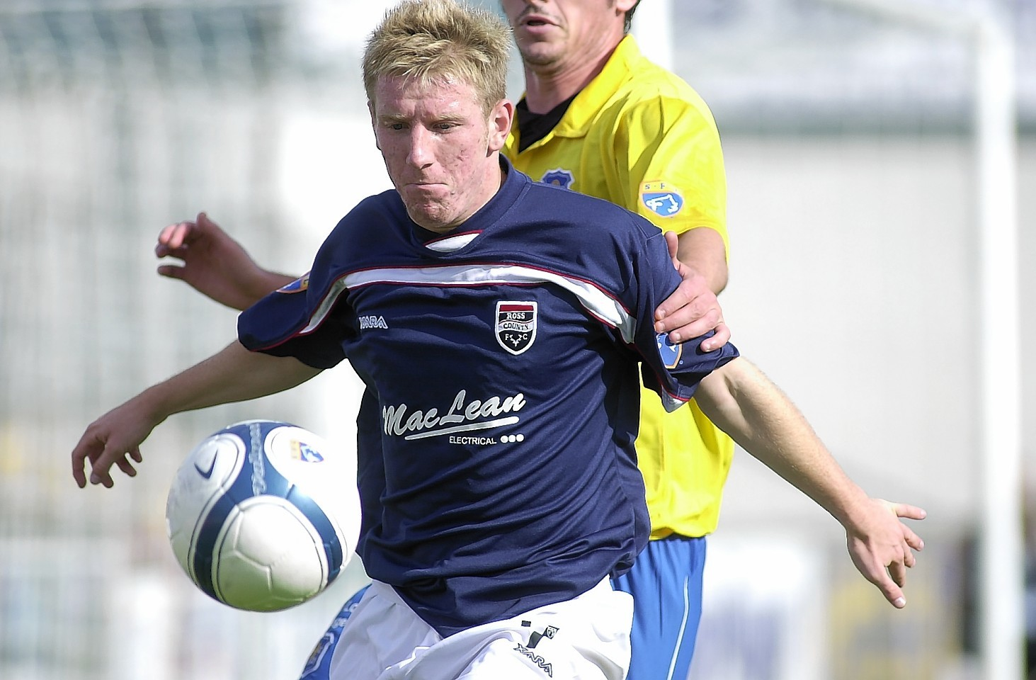 Gardyne in action for the Staggies in 2006