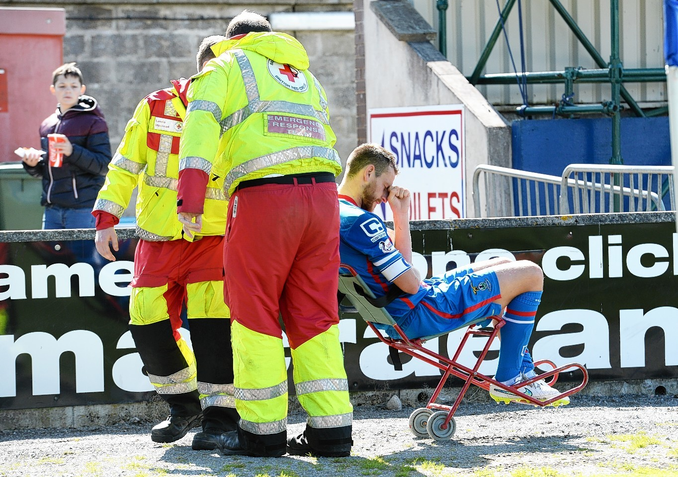 Gary Warren had been ruled out after breaking his leg in August