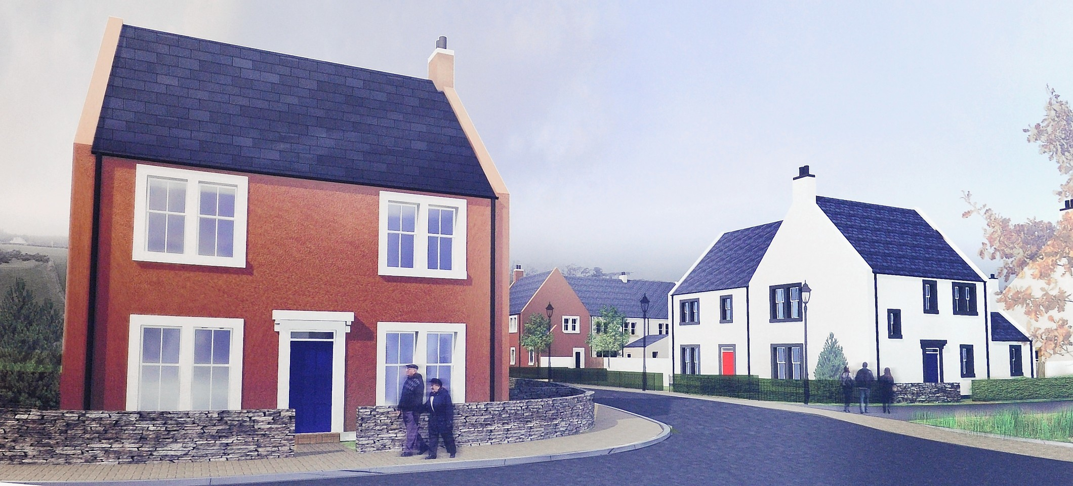 Artists impressions of the proposed development.