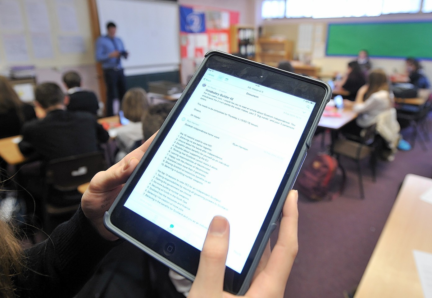More Highland pupils will be using tablets under the council's plans