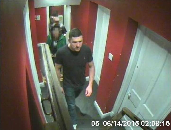 Police are hunting this man after a serious assault in Hootananny in Inverness