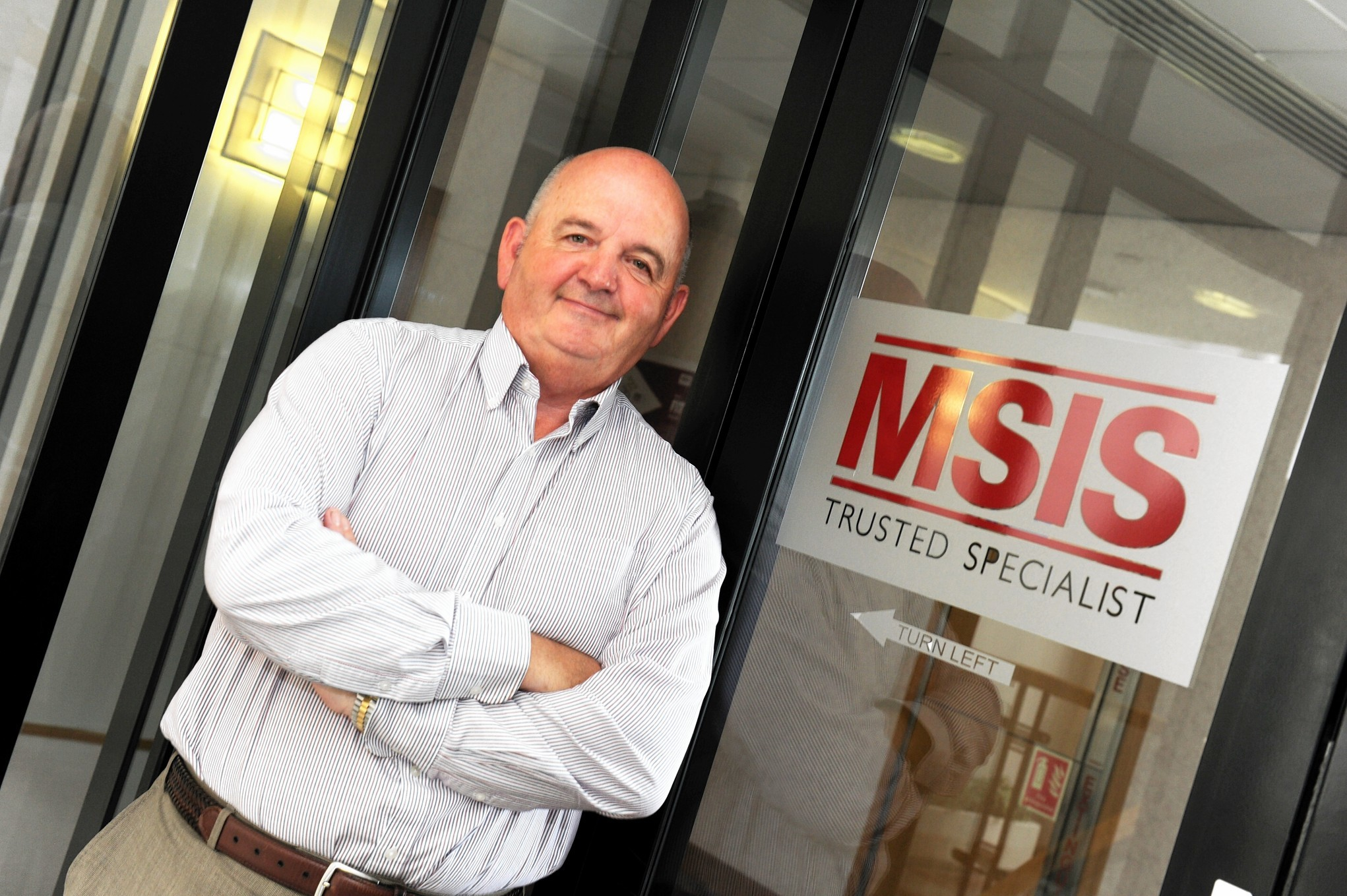 MSIS managing director Ian McPherson