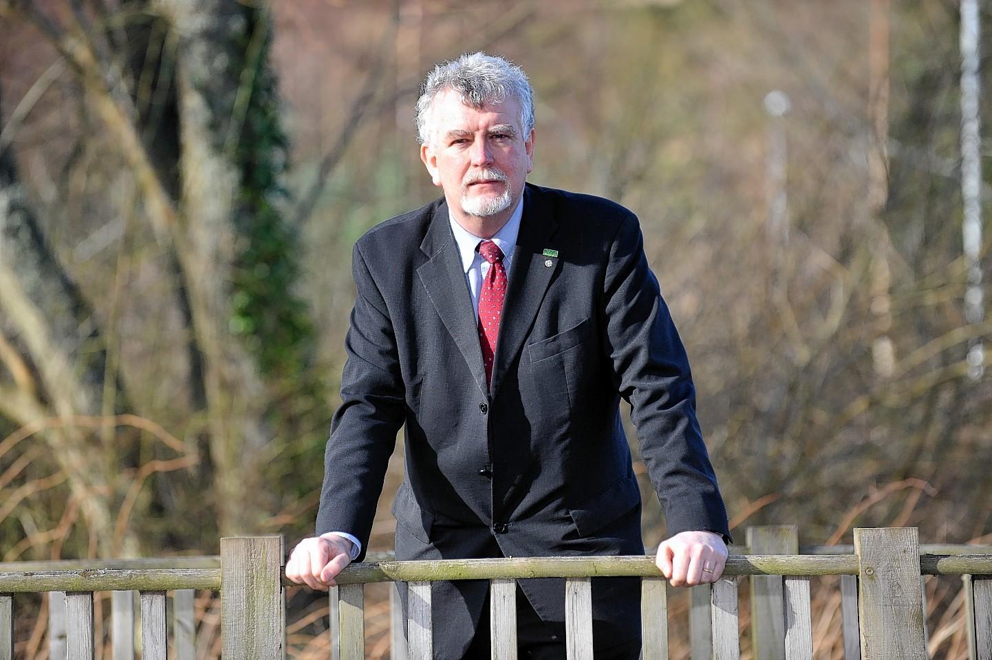 SNH chairman Ian Ross