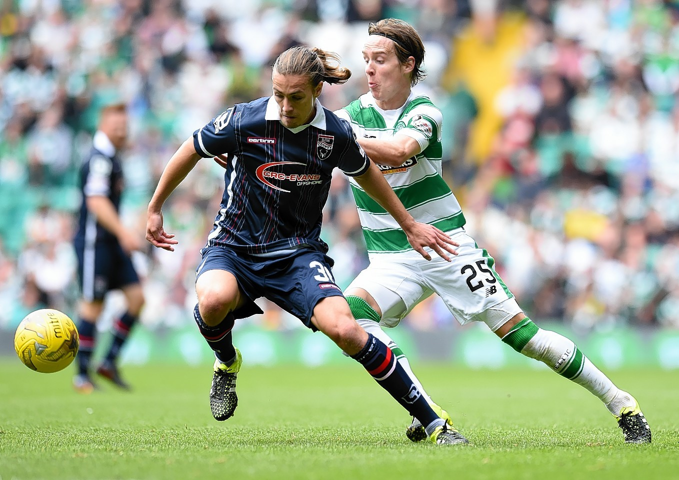 Ross County and Celtic will meet at Hampden in January
