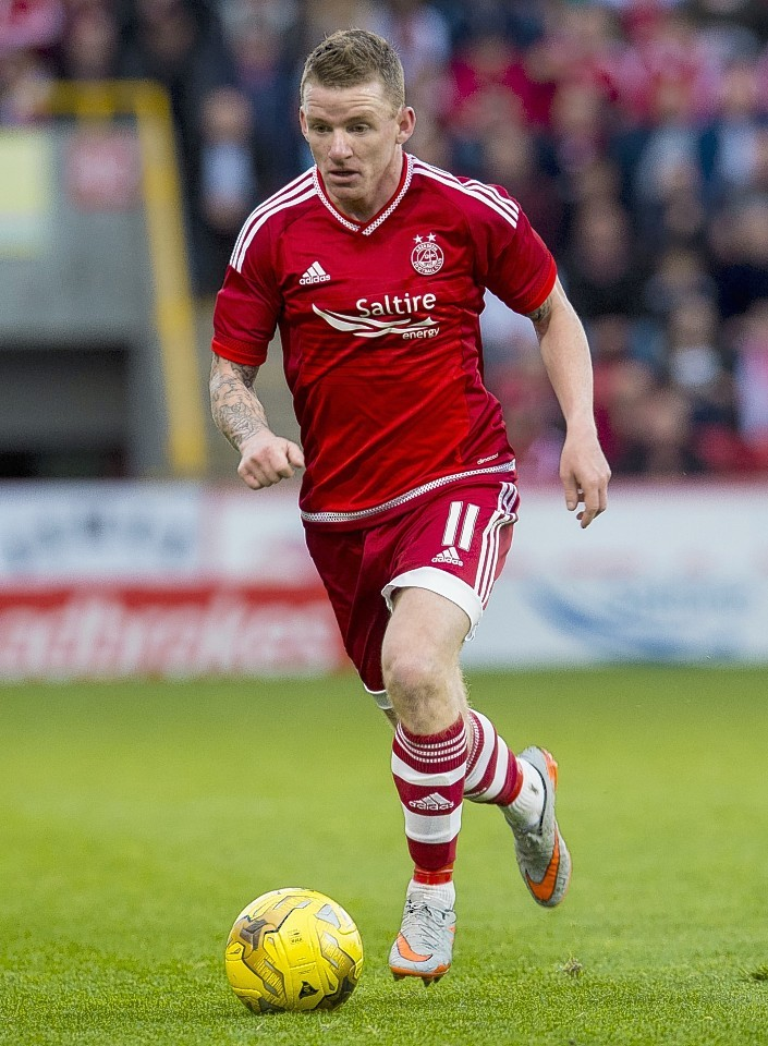 Jonny Hayes is expecting a difficult 90 minutes at Fir Park