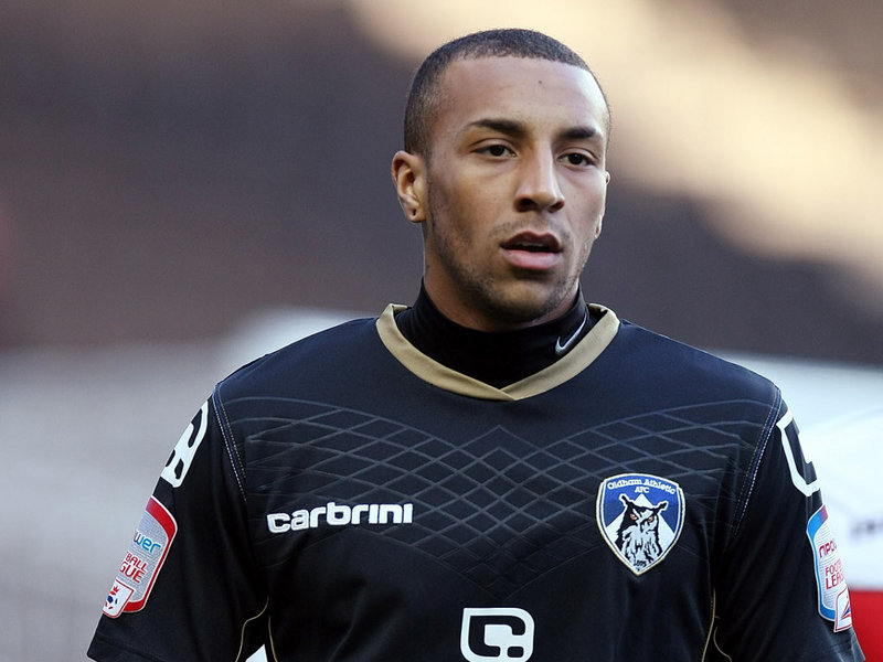 Josh Parker during his time at Oldham Athletic