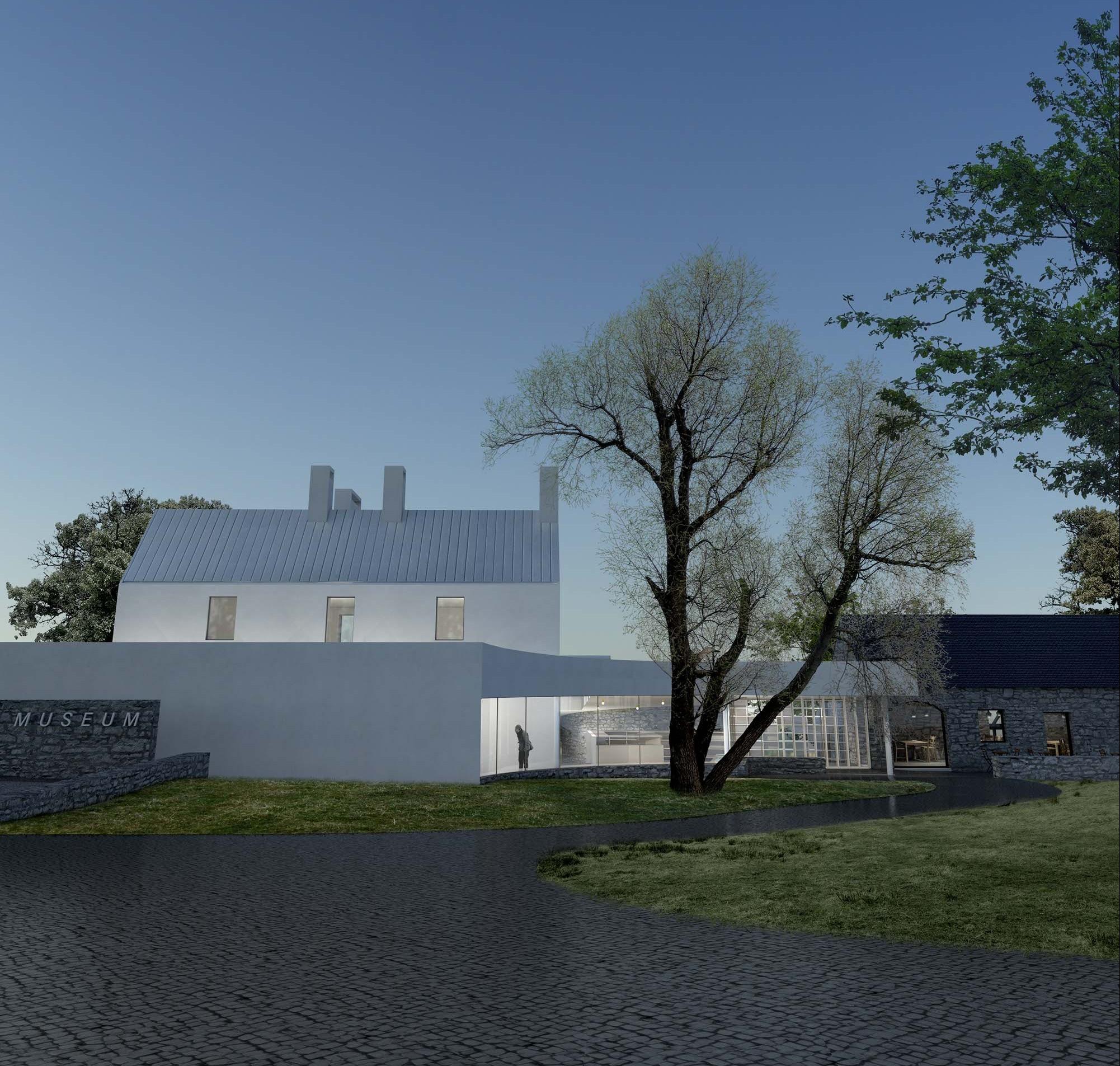 Artists impression of the Kilmartin Museum development