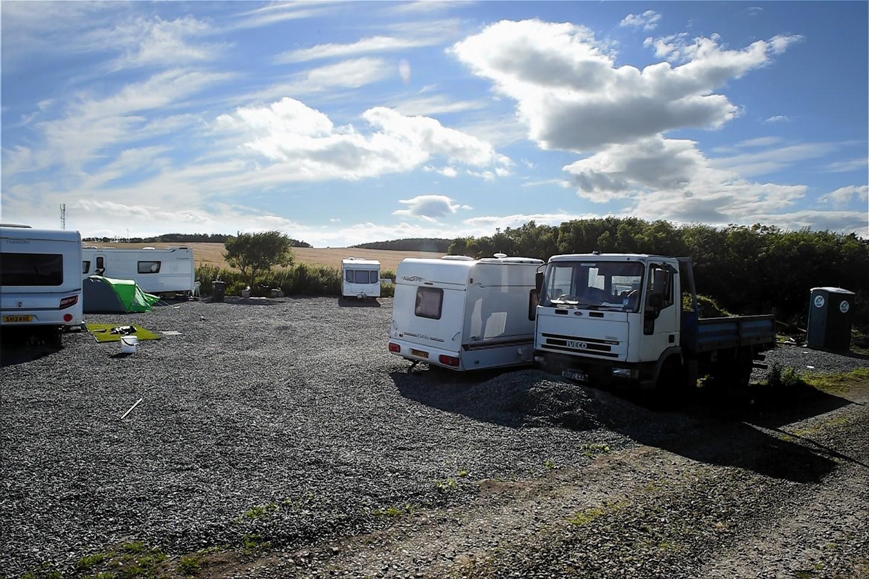 The site at Springhill, near Peterhead.