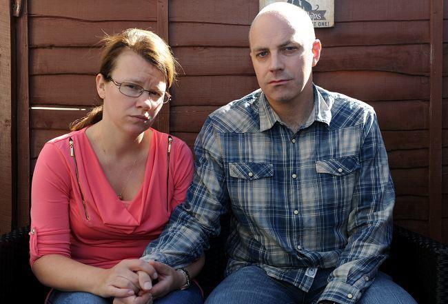 Mark McLean with partner, Angela