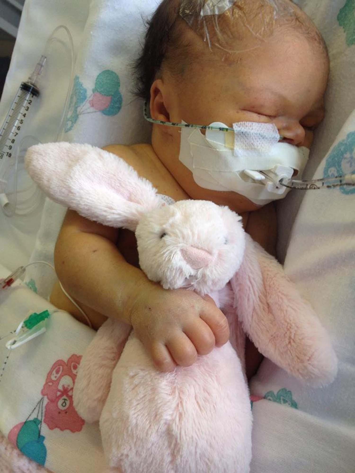 Miracle baby Skye Edwards