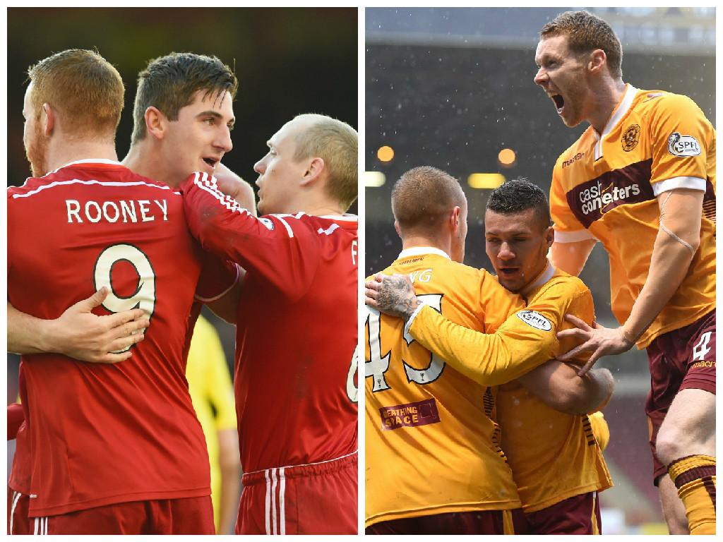 Mothwerwell v Aberdeen kicks off on Saturday at 3pm.