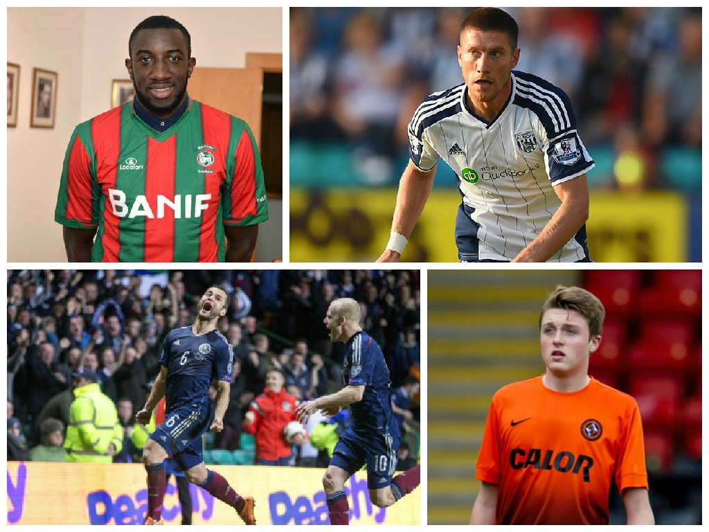 Moussa Marega and Sebastien Pocognoli could both head to Celtic, while Shaun Maloney and Harry Souttar could be England bound