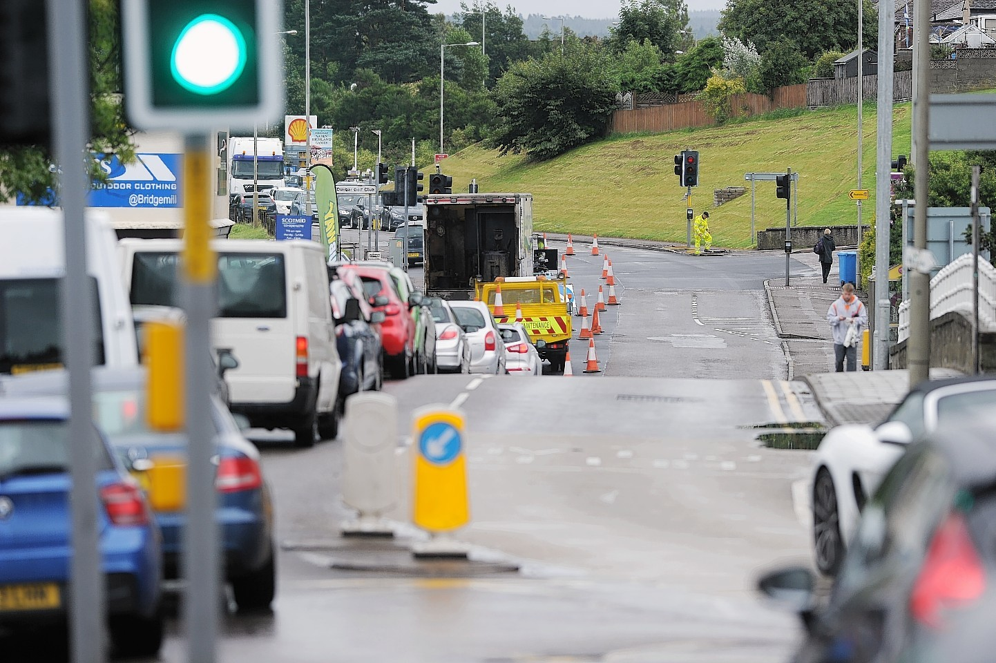 A group is being formed to consider Nairn's traffic light problems