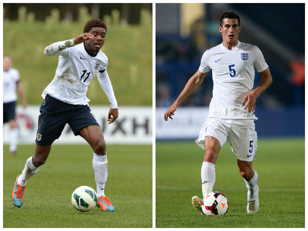 Nathan Oduwa and Dominic Ball have both represented England at youth level and are now heading to Ibrox