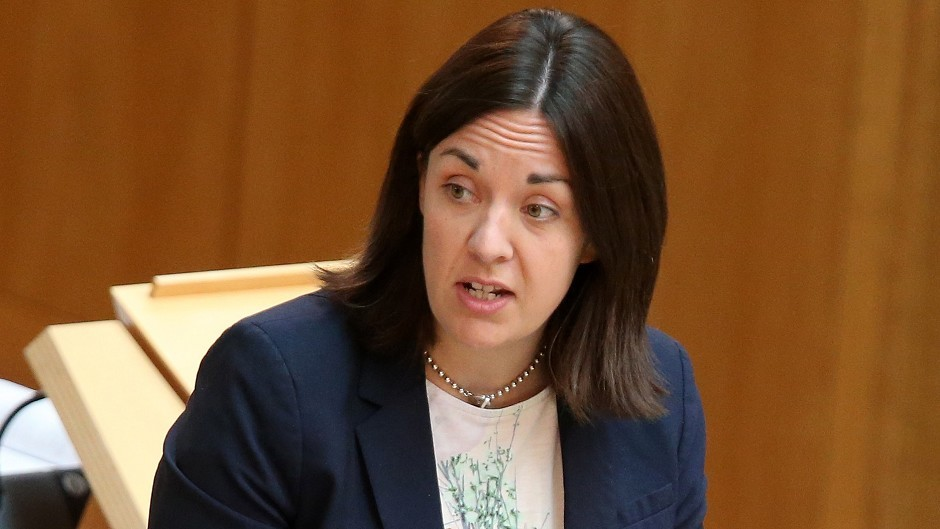 Kezia Dugdale has already announced a gender-balanced front bench team for Scottish Labour