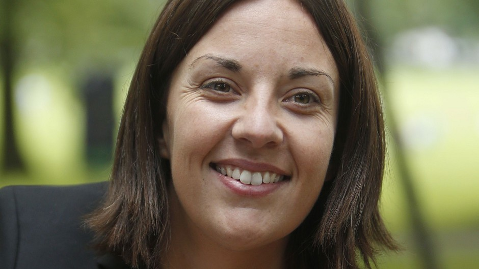 New Scottish Labour leader Kezia Dugdale has named her top team