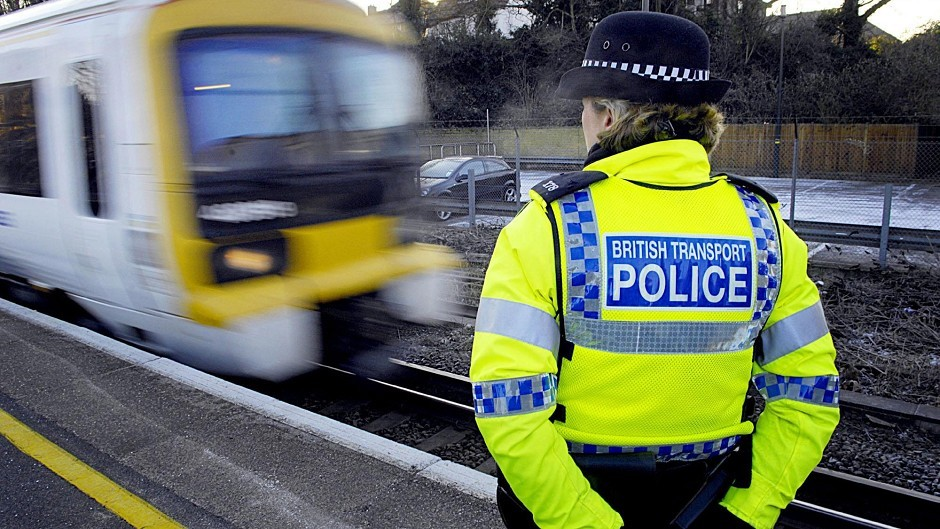 British Transport Police investigate