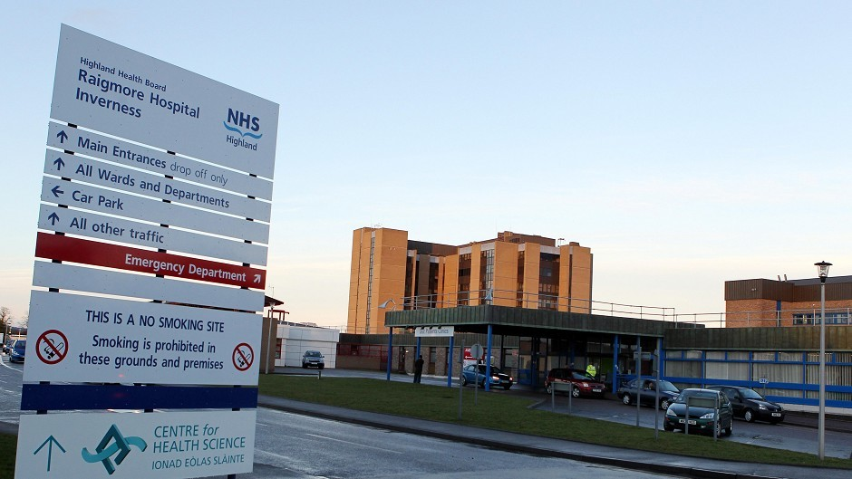 The locum doctor worked at Raigmore Hospital