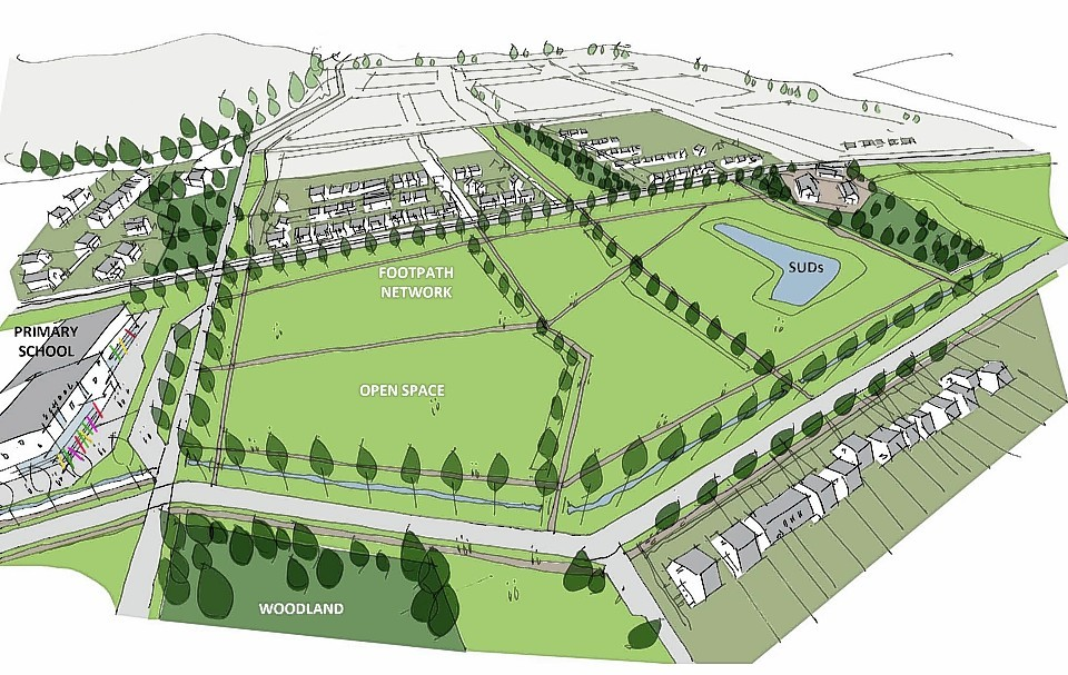 Plans for 1,500 new homes in the north of Elgin have been finalised
