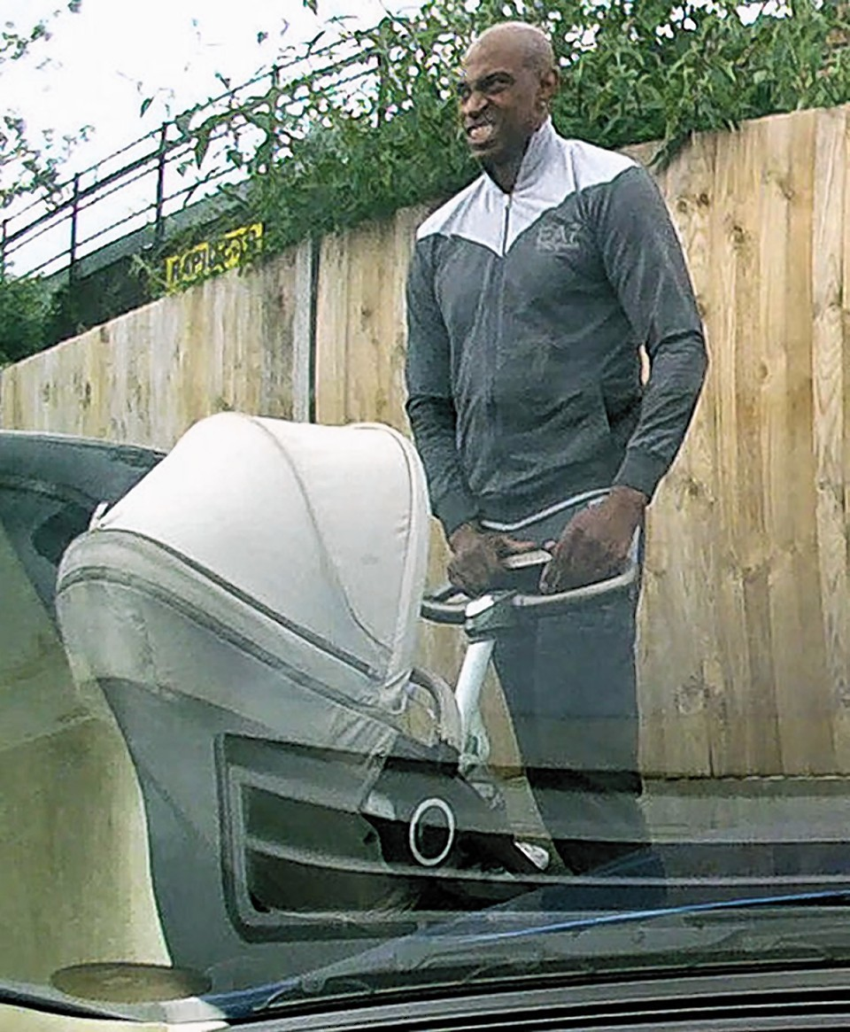 The man man was spotted allegedly scratching the Aston Martin