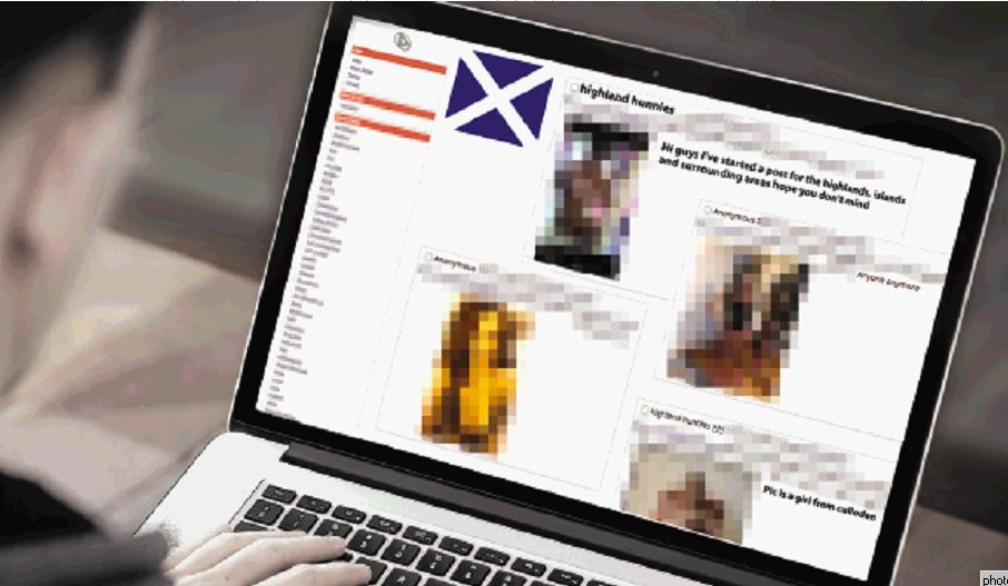 Images of women from Inverness, Nairn and Elgin are amongst those who have appeared on the website