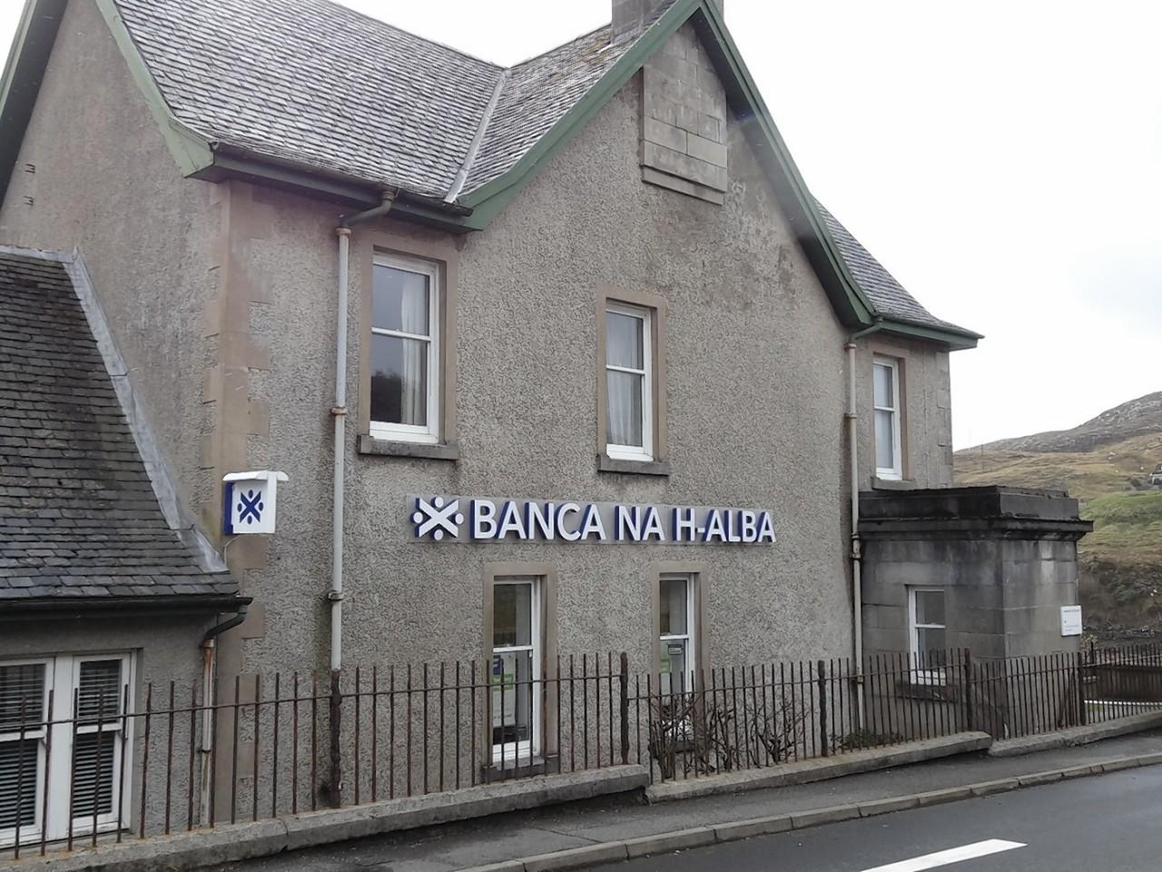 Bank of Scotland in Lochmaddy