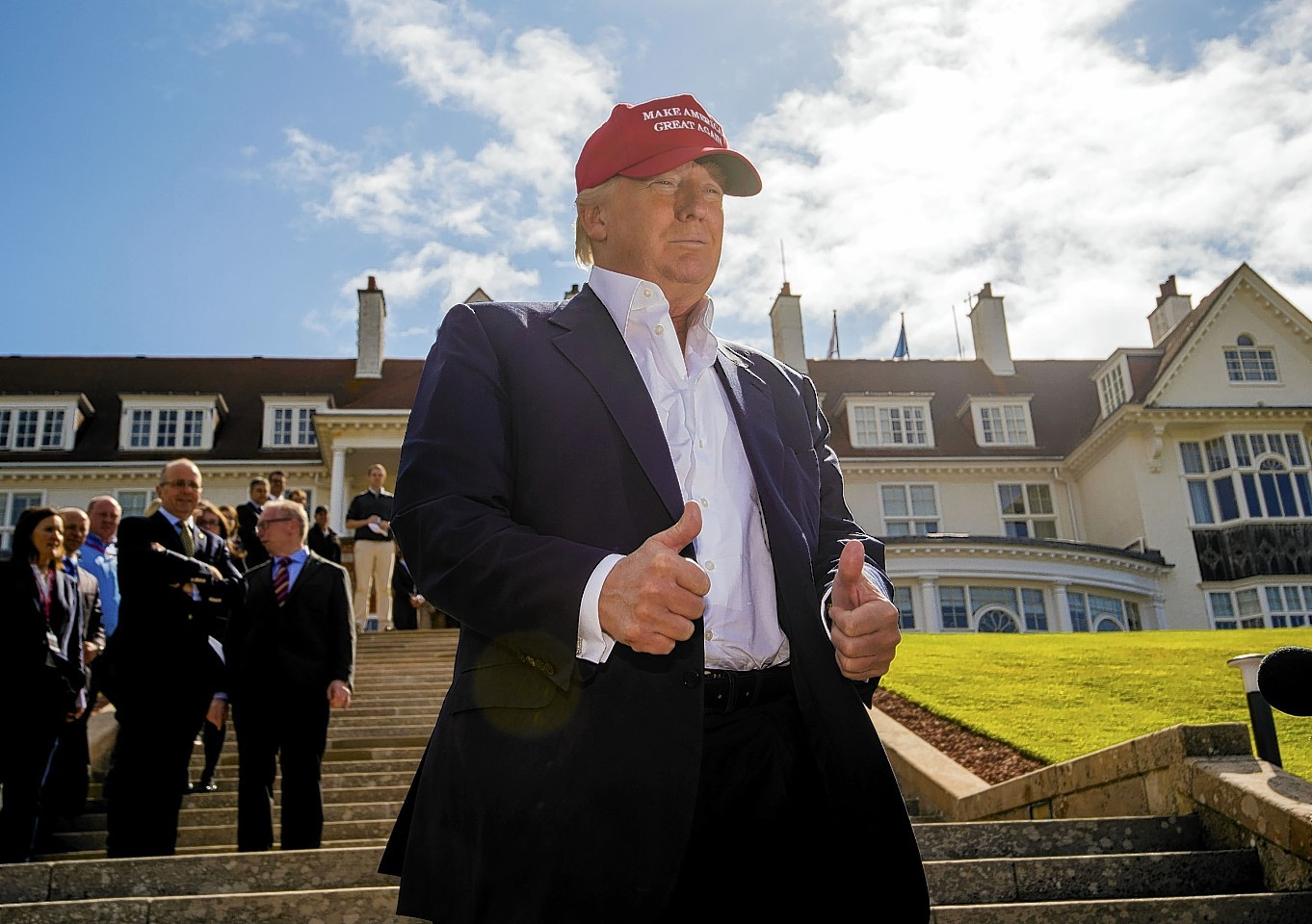 Donald Trump at Turnberry