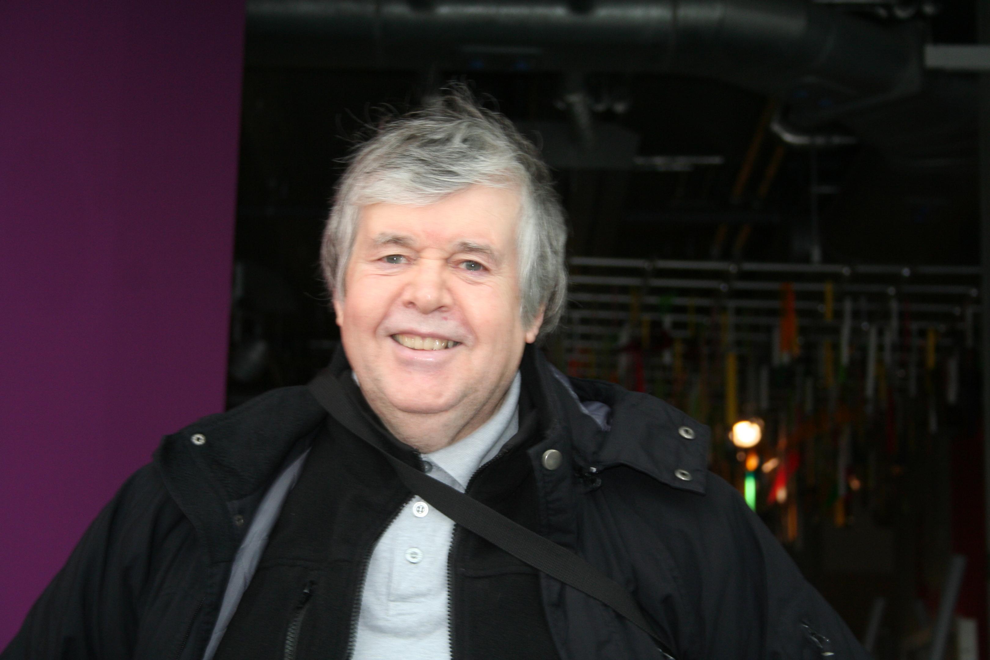 Val Pearson was saved outside Peterhead Football Club