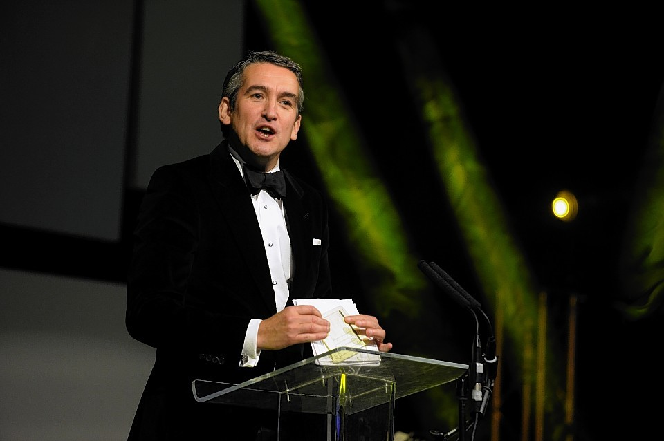 P&J editor-in-chief Damian Bates