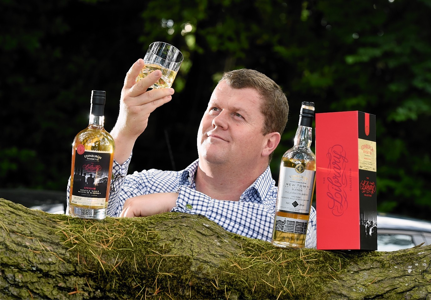 Gregor Mathieson has launched a new whisky company. Picture by Kevin Emslie