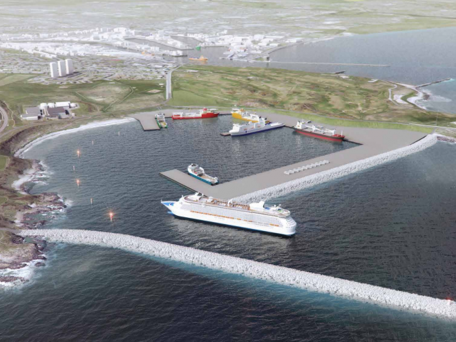 The plans for Aberdeen harbour
