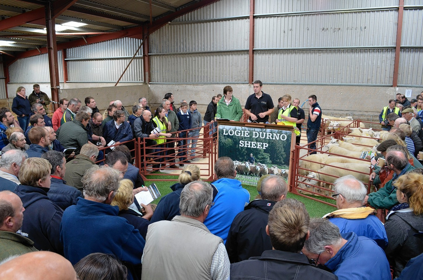 A previous sale at Logie Durno
