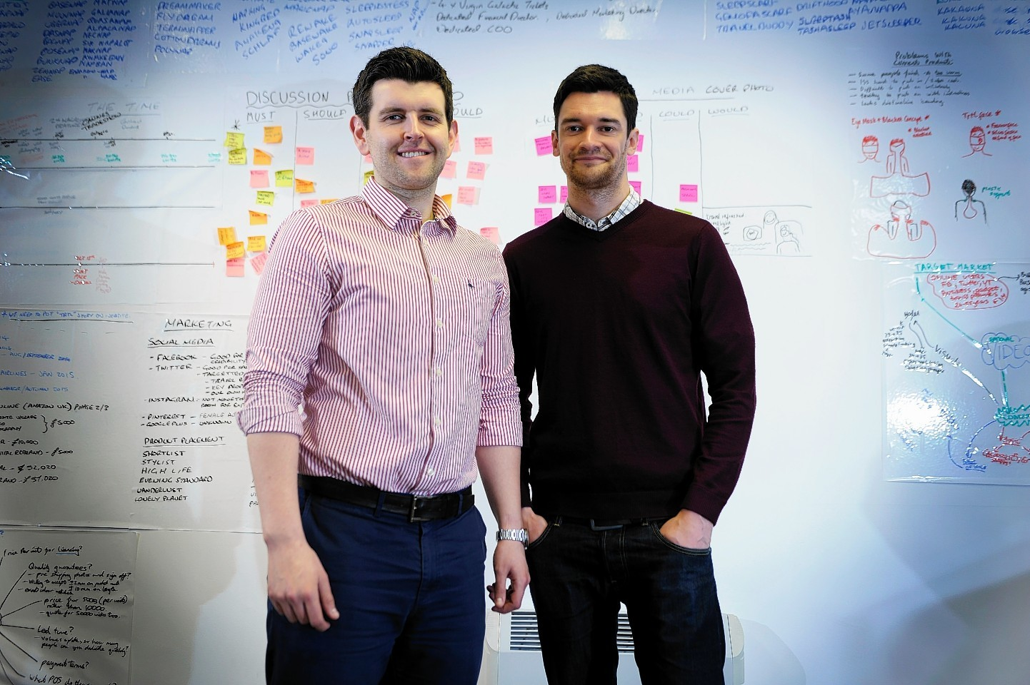 Pictured are Michael Corrigan and David Kellock of Coolside Ltd, trading as Trtl