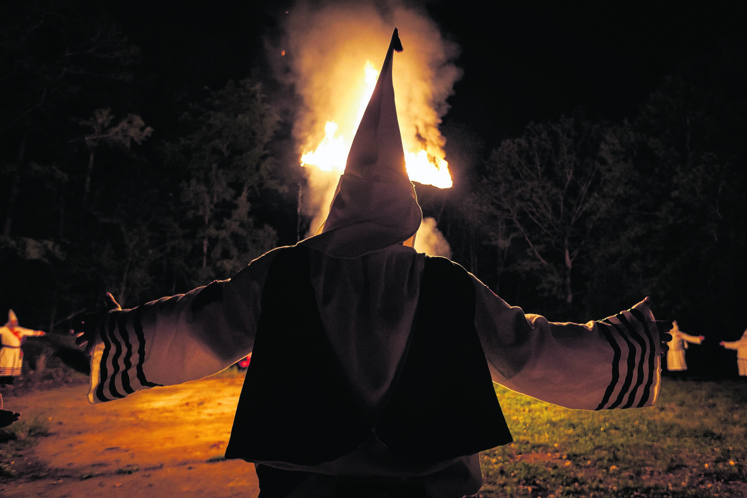The KKK was recently the subject of a Channel 4 documentary, Inside the Ku Klux Klan