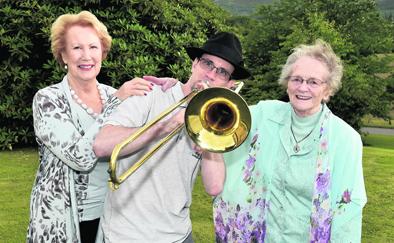 Matt Ainsworth plays for Dorothy Needham and Carol Mair
