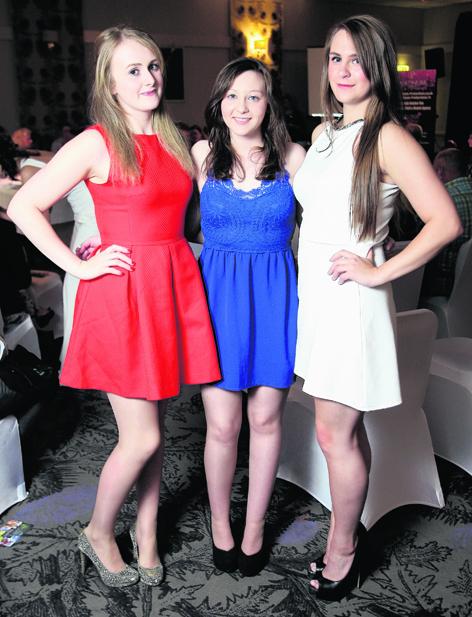 Laura Mitchell, Charlene MacKenzie and Jessica Montgomery