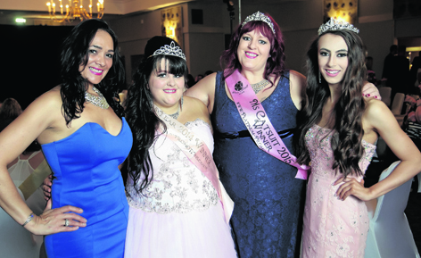 Edna Forbes, Kerry Campbell, Laura Johnson and Kloe Gibson