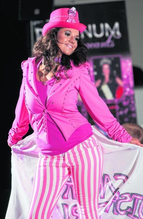 Kelly Willis, winner of Miss Year Scotland