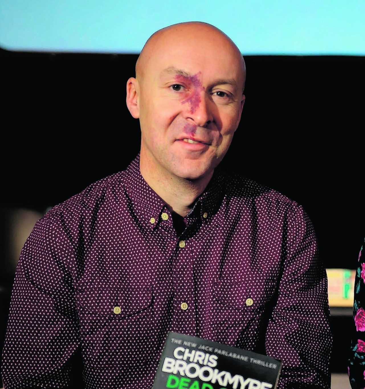 Author Christopher Brookmyre