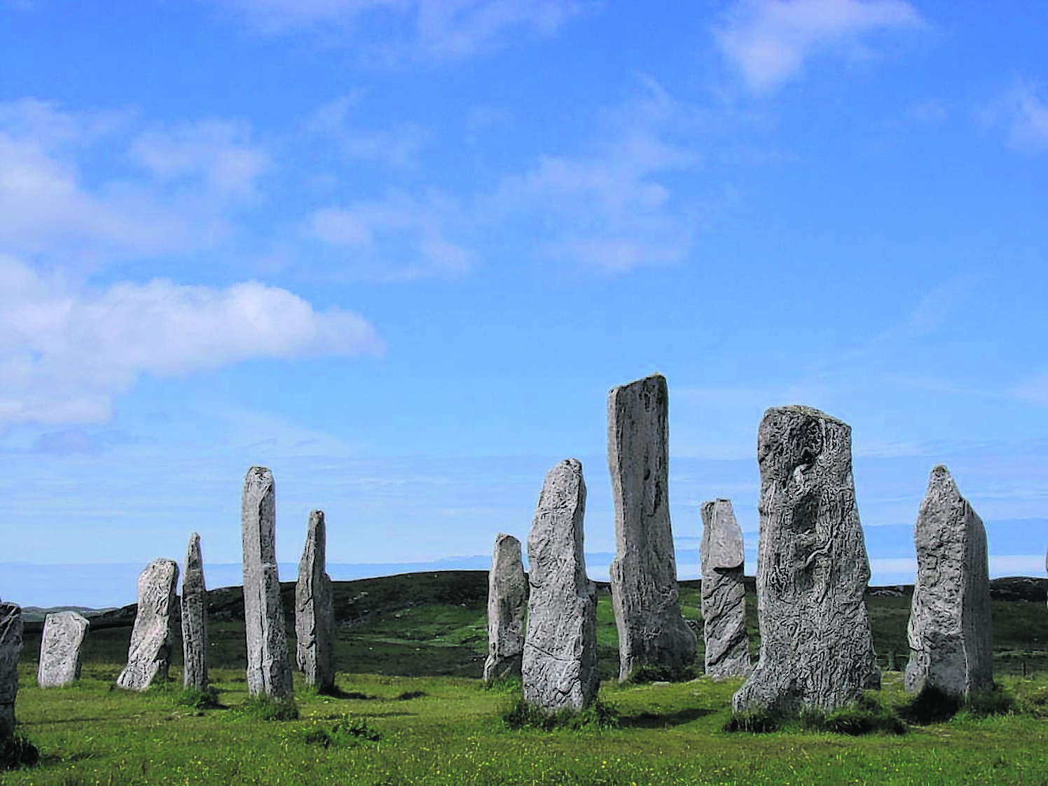 The Callanish Standing Stones on Lewis