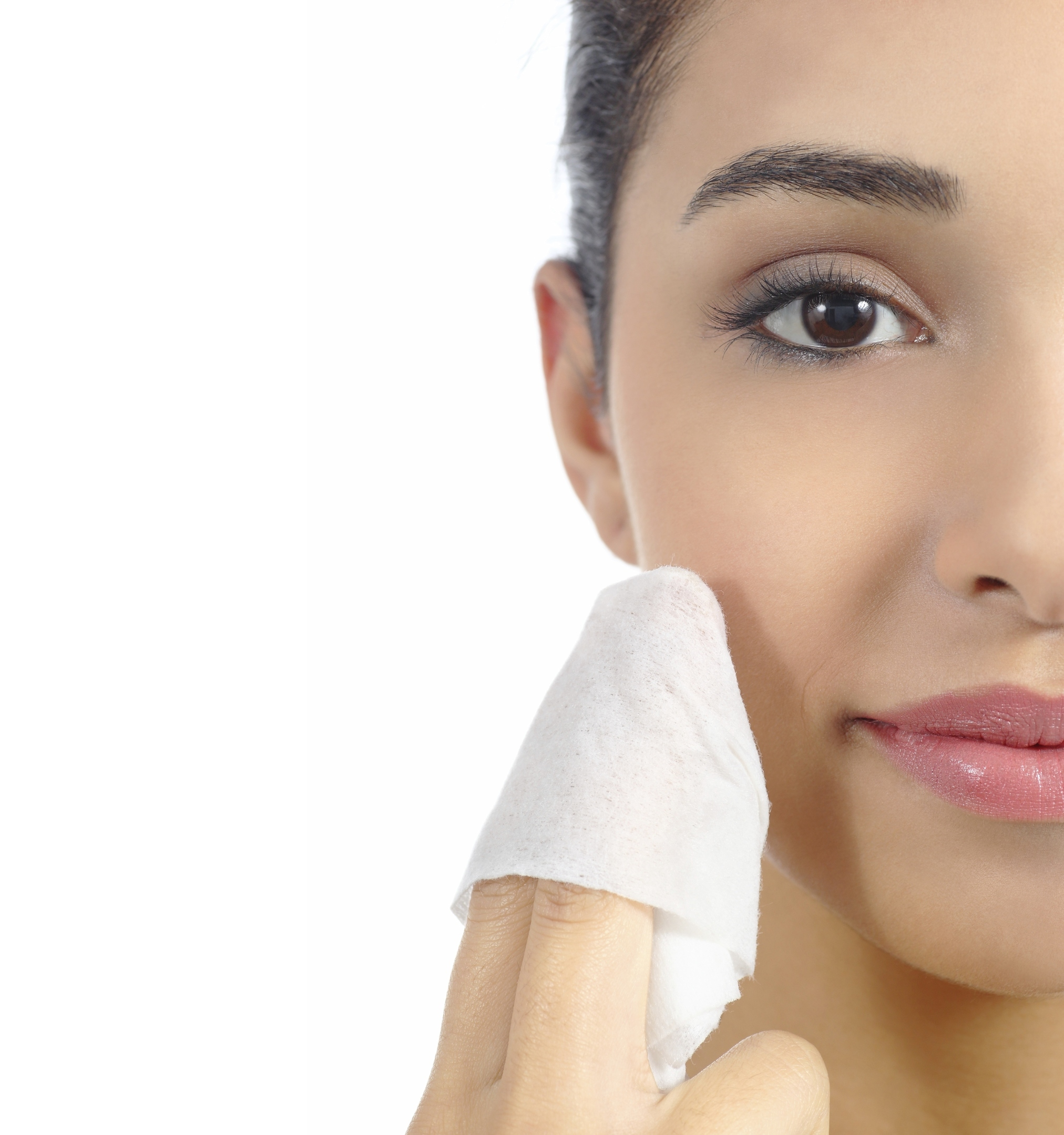 A Generic Photo of a woman removing her make up with a wet wipe. See PA Feature TOPICAL Wipes. Picture credit should read: PA Photo/thinkstockphotos. WARNING: This picture must only be used to accompany PA Feature TOPICAL Wipes.