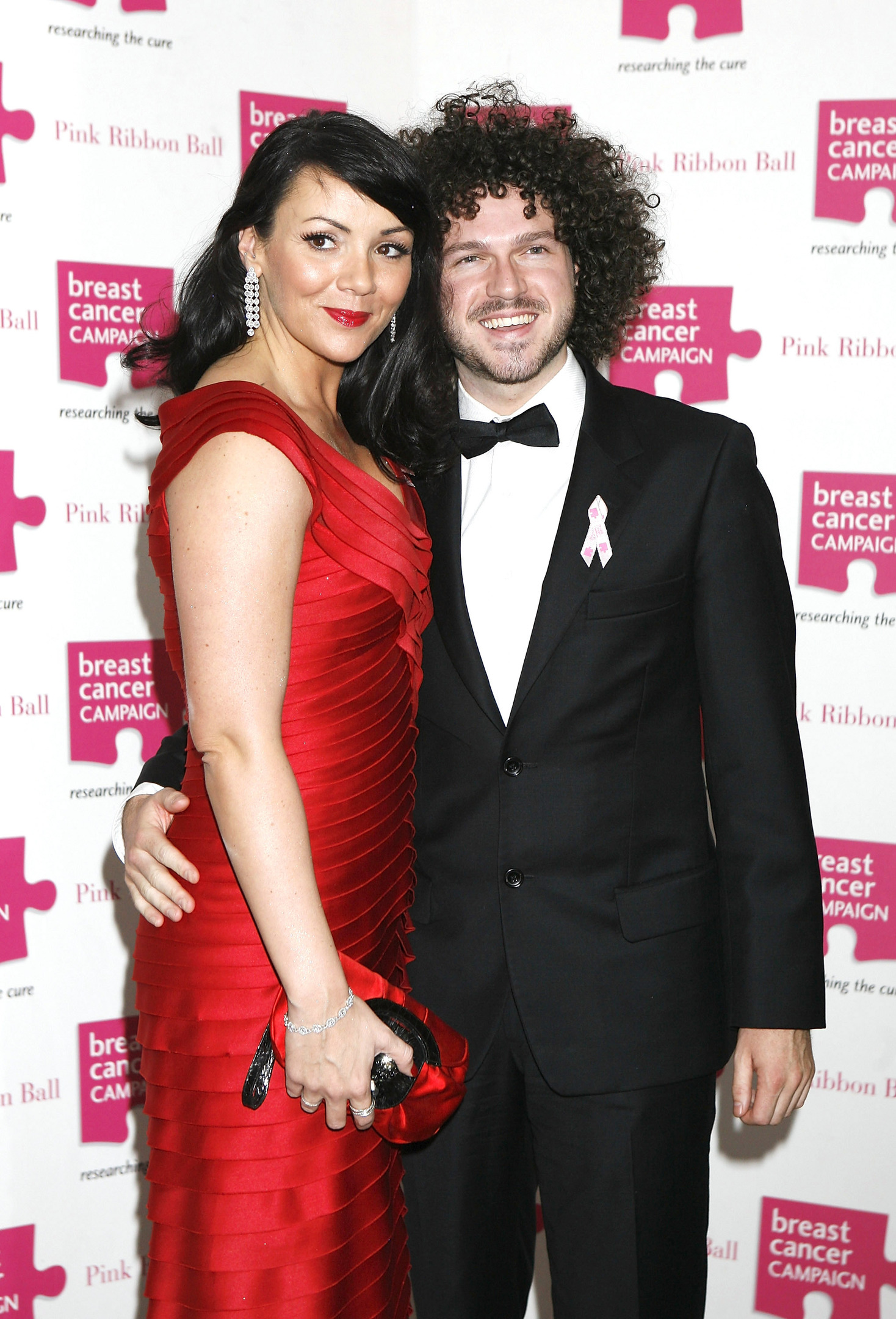 10/10/2009 PA File Photo of Pink Ribbon Ball patron Martine McCutcheon and partner Jack Mcmanus at the Pink Ribbon Ball at the Dorchester Hotel in central London. See PA Feature WELLBEING McCutcheon. Picture credit should read: Yui Mok/PA Photos. WARNING: This picture must only be used to accompany PA Feature WELLBEING McCutcheon.