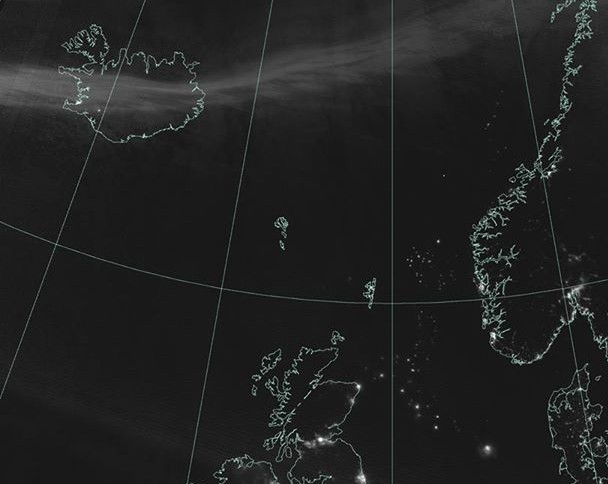 The UK from outer space